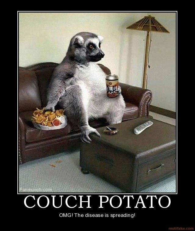 Couch potato meme