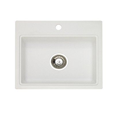 Jacuzzi AS-AQ10RUSSK Astracast® Dual Mount Granite 3-Hole Bar Sink ...