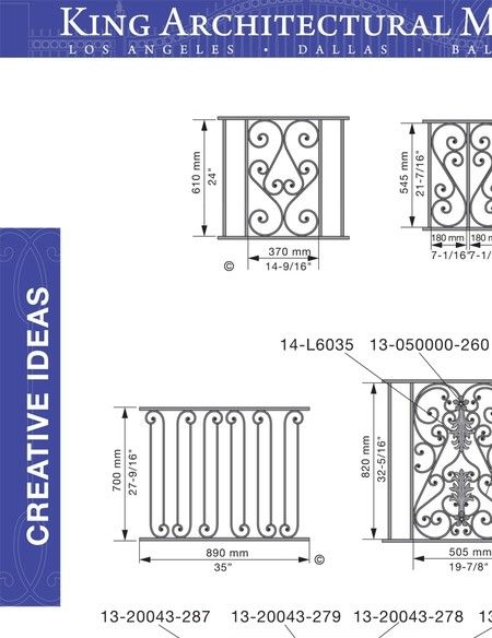king metals catalog - design concepts vol 4 - page 448 | wrought
