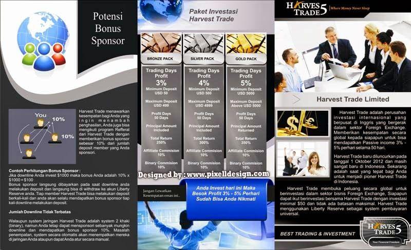 Contoh Brosur Promosi Contoh Iklan Produk Dan Jasa Brochure