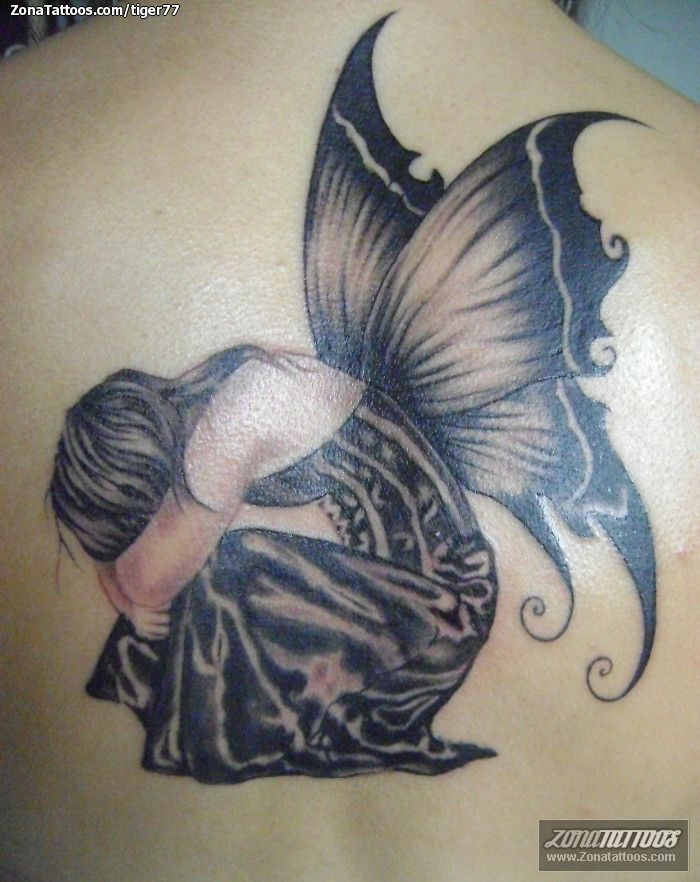 Tatuajes Hadas Mariposas Y Flores Tatuaje De Hadas Tatuaje De Hada Tatuajes De Mariposa