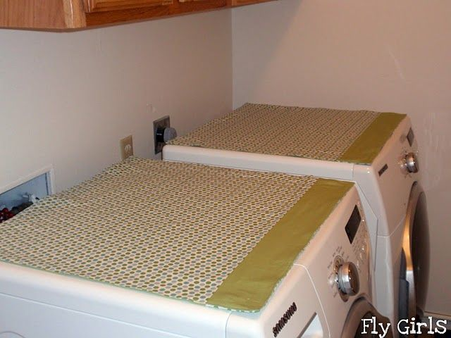 Homemade Washer Amp Dryer Covers Washer Dryer Covers