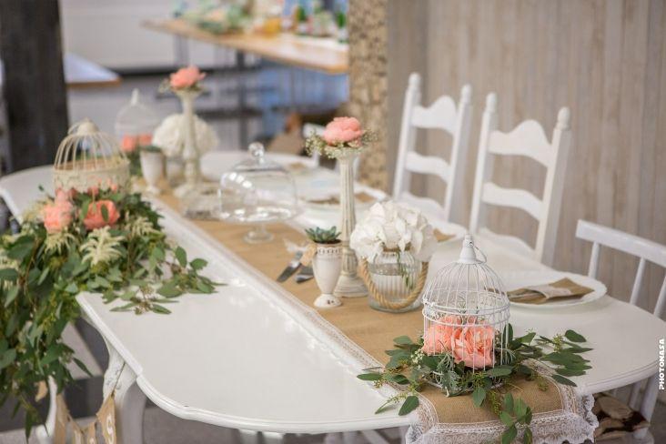Vintage hochzeit in lahr brauttisch vintage und for Brauttisch deko