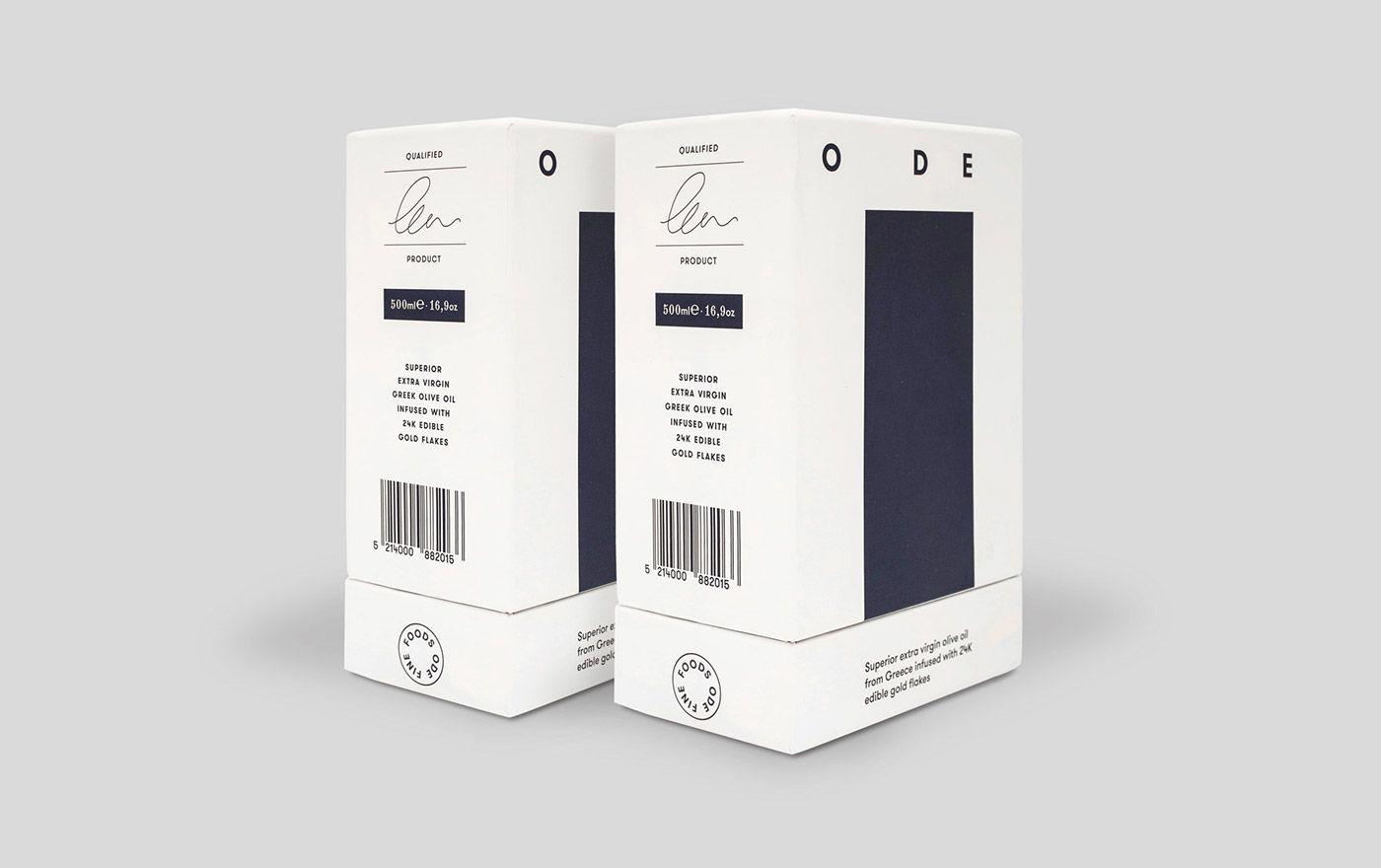 Ode Fine Foods Brand Identity Visual Identity Design Identity Brand Identity Package
