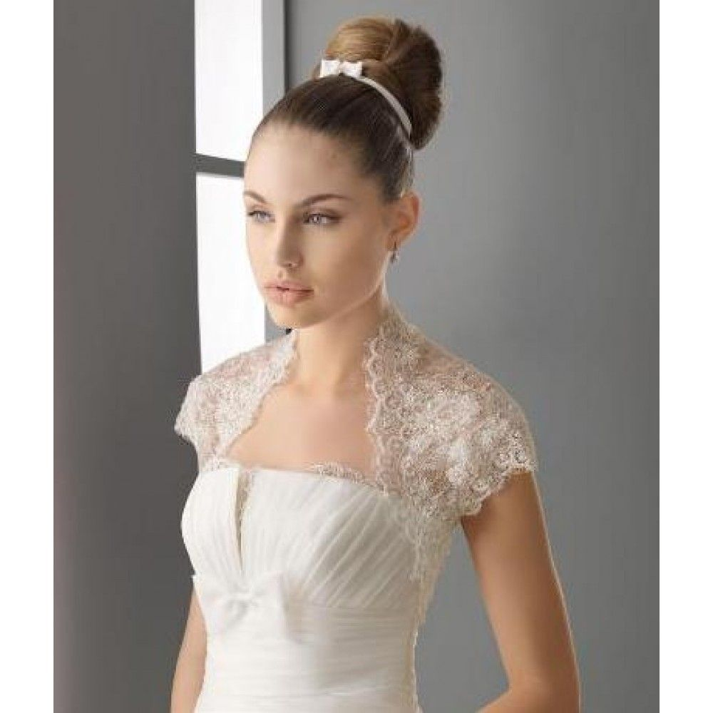 Lace neckline មតកអវ pinterest lace wedding jacket