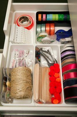 MyBellaBug : Office Organization: Scrapbook & Craft Supplies