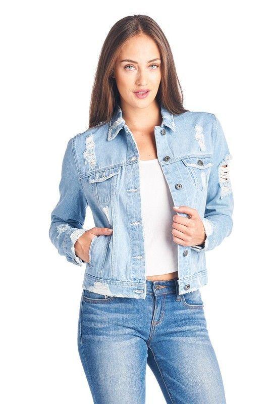 85a6c1d96e Blue Jean Denim Jacket