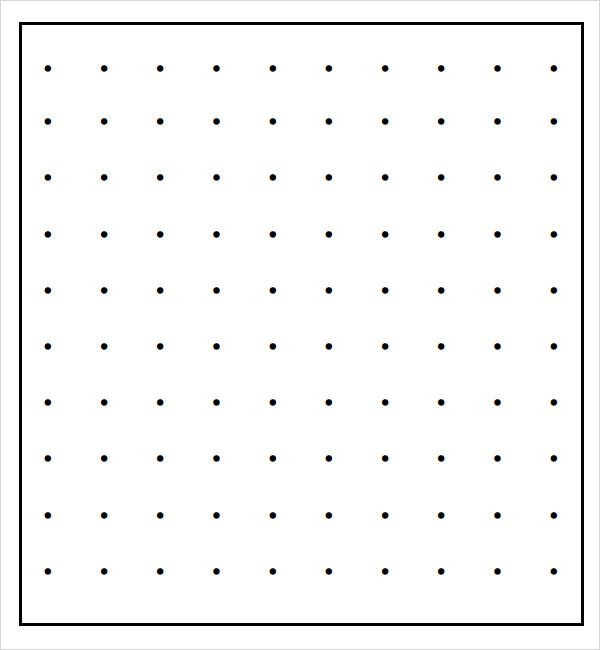 Free Dot Paper Template things to print