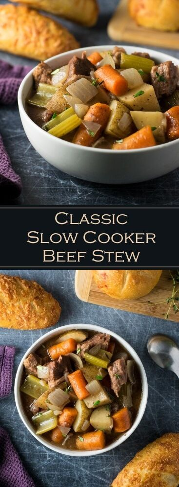 Parkers Beef Stew check out classic slow cooker beef stew. it's so easy to make