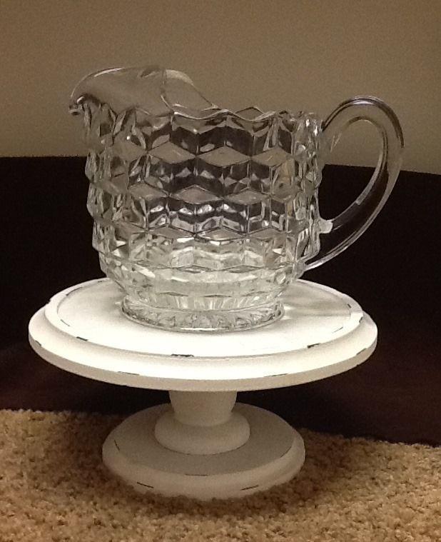 Dinnerware · REDUCED! Fostoria 1950-60u0027s American Ice Lip Pitcher 6 1/2  tall & REDUCED! Fostoria 1950-60u0027s American Ice Lip Pitcher 6 1/2