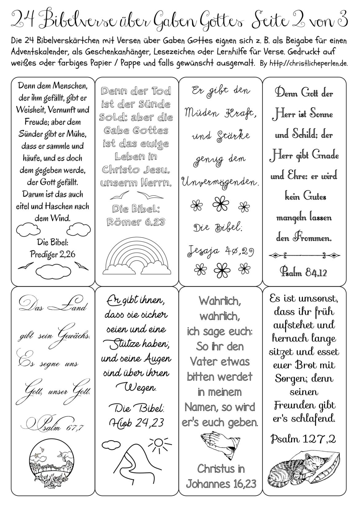 24 Bibelverse Z B Fur Einen Adventskalender Weihnachten Christlich Adventskalender Und Bibelverse