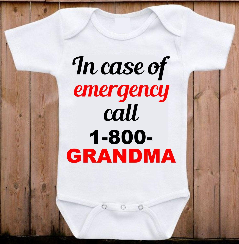 Grandma Onesie I Love My Grandma Baby Onesie Baby Shower