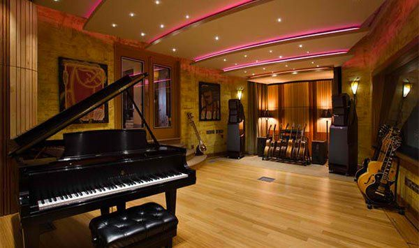 15 Design Ideas for Home Music Rooms and Studios | Studio, Ceilings ...