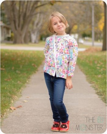 The Bries Cardigan PDF Sewing Patter