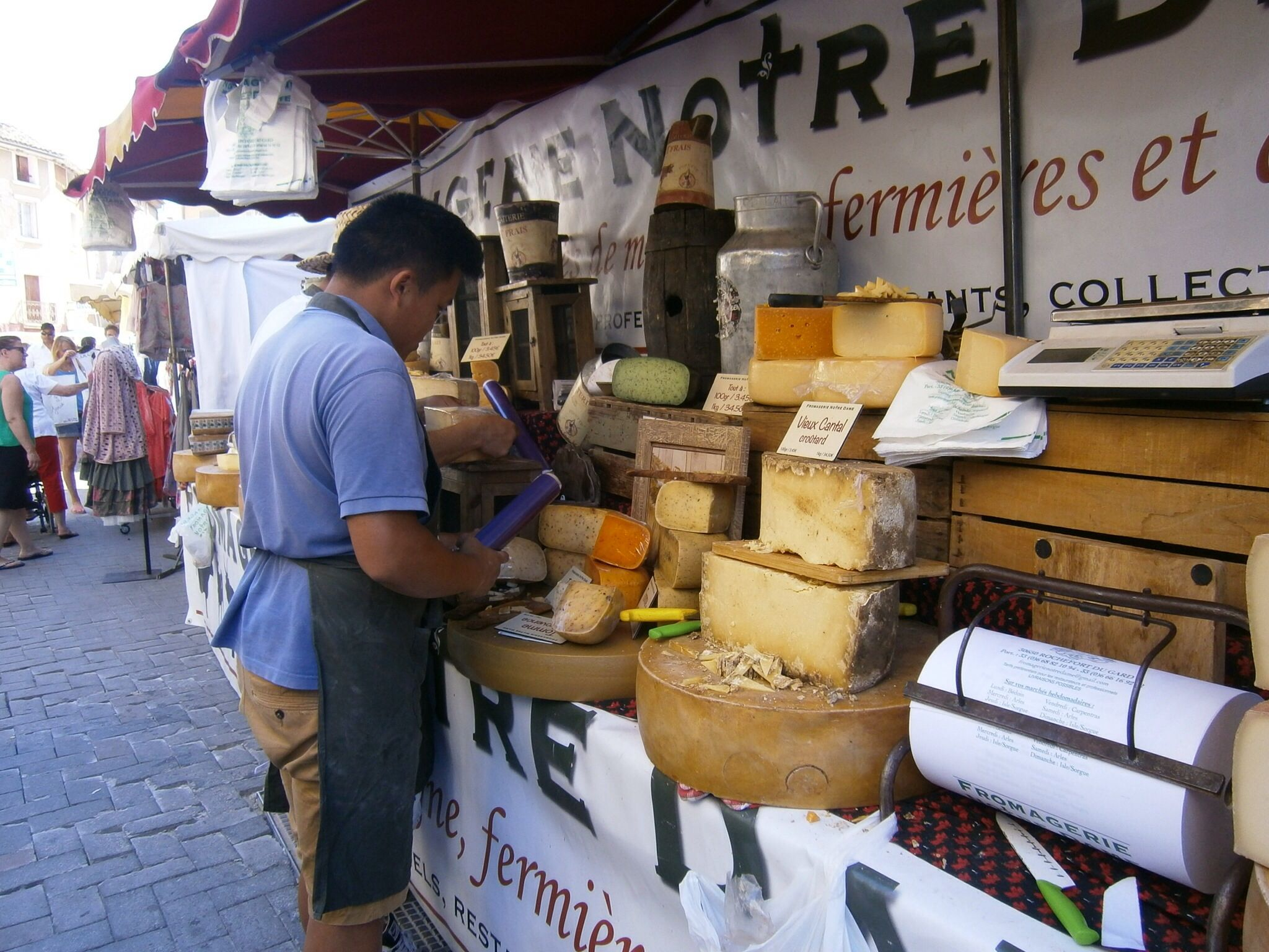 Provencen juustot