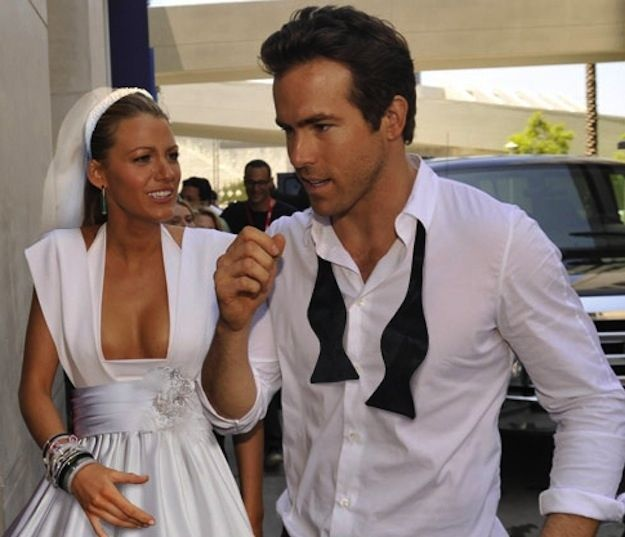 Ryan Reynolds And Blake Lively Got Married (With images ...