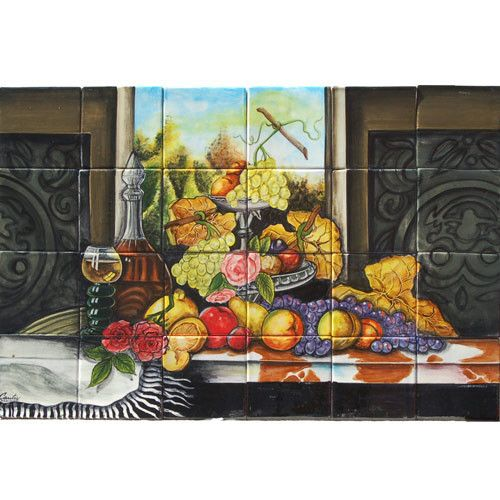 Mexican Style Mural - Bodegon