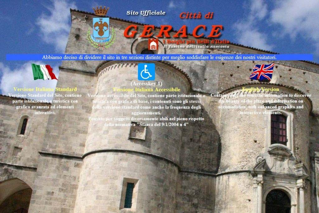Sito ufficiale comune Gerace | Calabria, Region, Italy