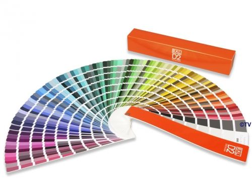 ral d2 colour fan deck includes 1625 ral design colors ral color tools pinterest decks fans and design color