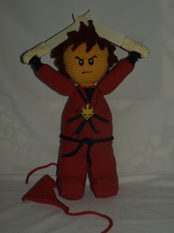 Kai Lego Ninjago Master Of Fire Crochet Pattern In English By