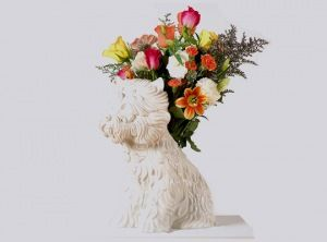 "Jeff Koons ""Puppy Vase"""