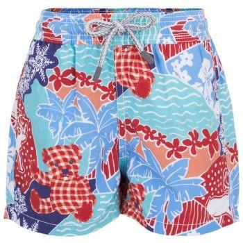 4ea69ca7fd Vilebrequin Boys Christmas Print Swim Shorts | Boardshorts | Kids ...