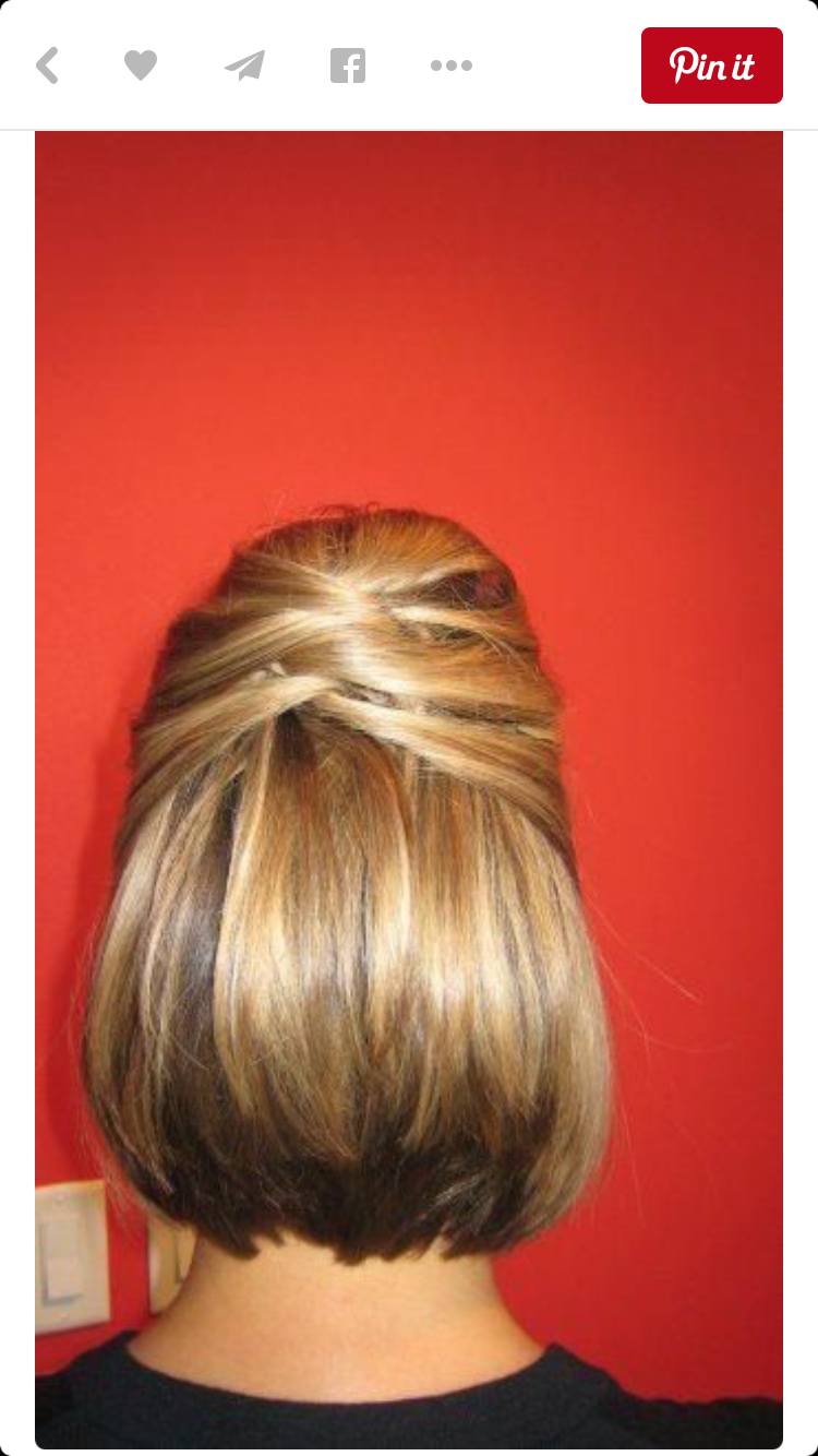Pin by alyson cheeseman on hairstyles pinterest hair style updo