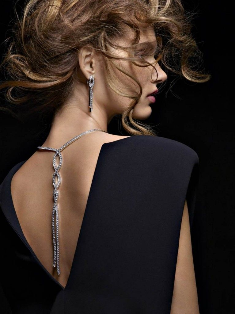 Giedre Dukauskaite for Piaget Jewelry Campaign 2014 . . .
