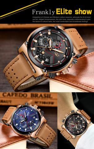 Mens Luxury Fashionable Watch