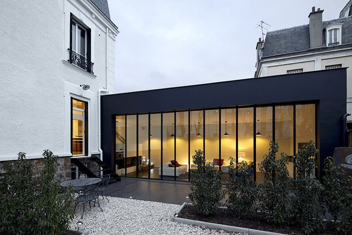 extension style   Architecture/Prefabs/Green/Modern/Interior Design/Curb Appeal   Facade house ...