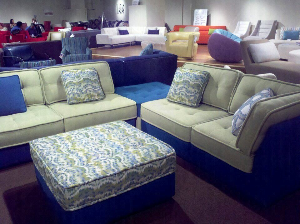 The Las Vegas Furniture Show Is Get N Cranked Up Lounge Is On Display At Lazar Think Of It As A Cool Plush Squishy Ca Pretty Furniture Furniture Home Decor