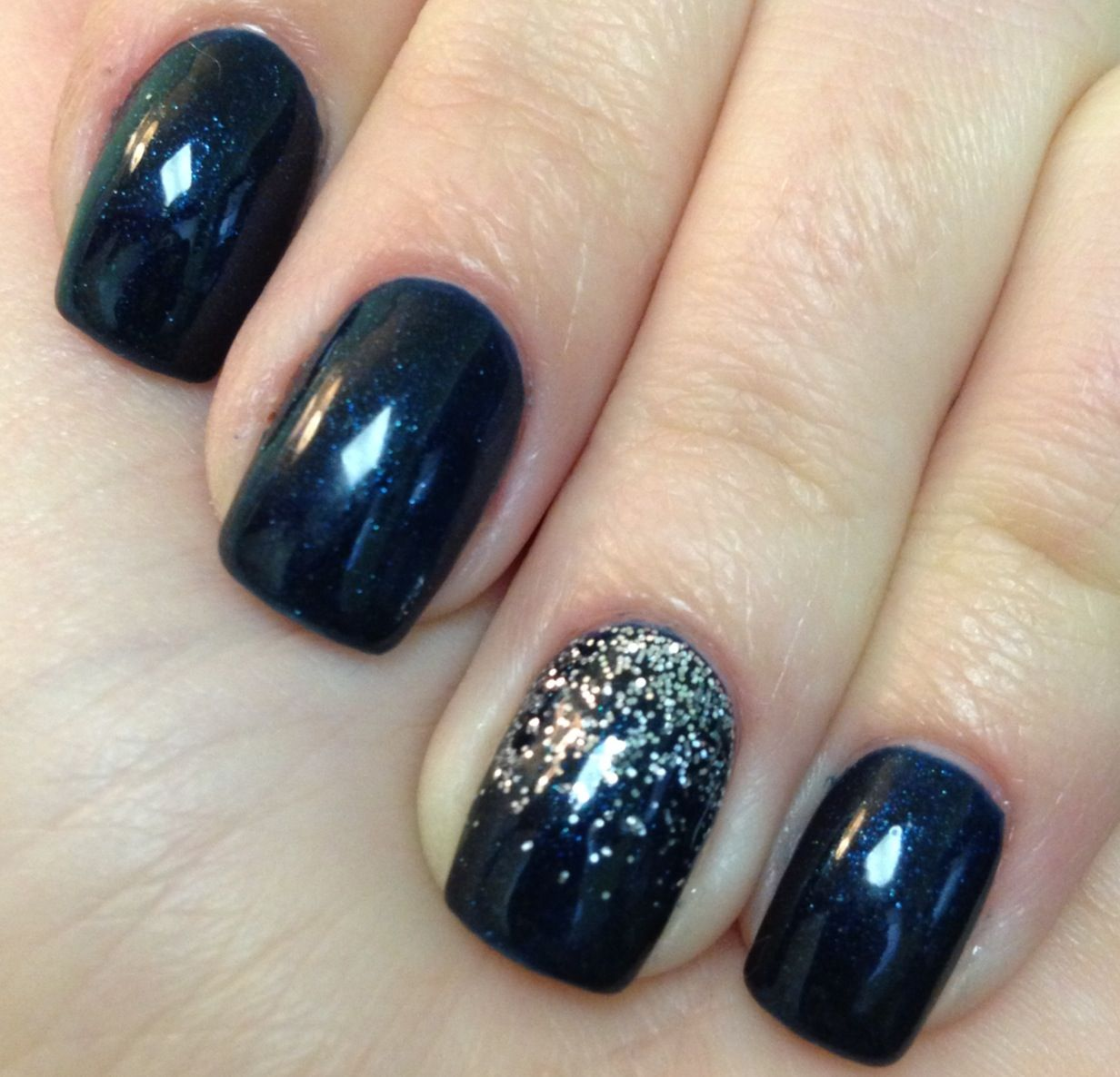 No chip with glitter | My Nail Designs | Pinterest | Makeup, Accent ...