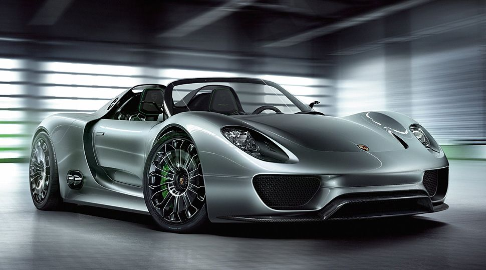 the porsche 918 spyder is a new plug in hybrid concept with a 500hp rh pinterest com au