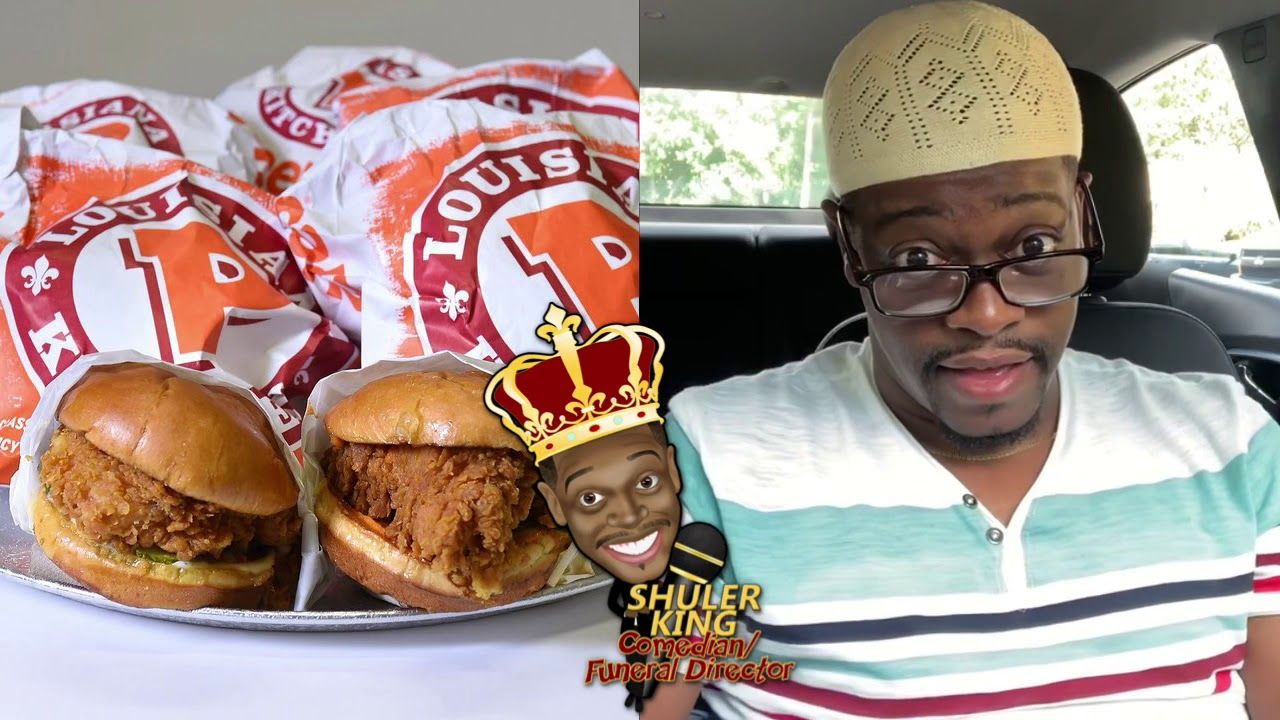 Shuler King Shuler X On The Popeyes Chicken Sandwich