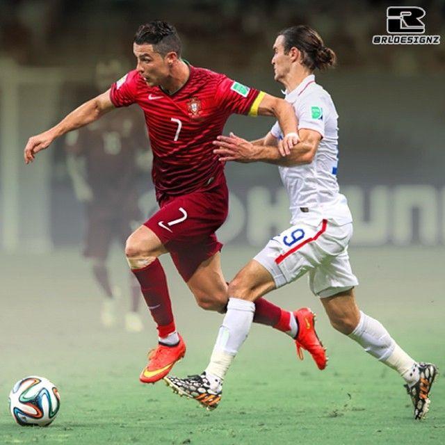 @cristiano vs @Gzusi - #USA VS #Portugal - Cristiano #Ronaldo Graham #Zusi - #WorldCup14