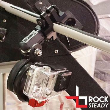 Flight Flix GoPro /& Garmin VIRB X//XE Rock Steady Mount Clamp Dovetail Base
