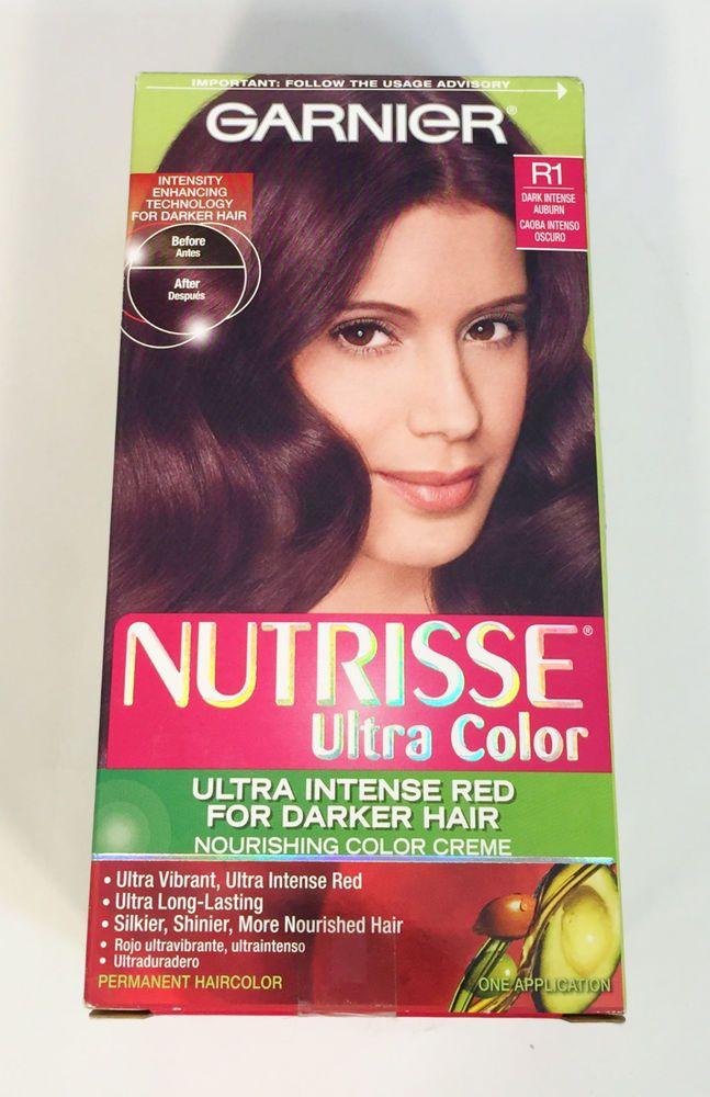 Garnier Nutrisse Ultra Color Ultra Intense Red Darker Hair