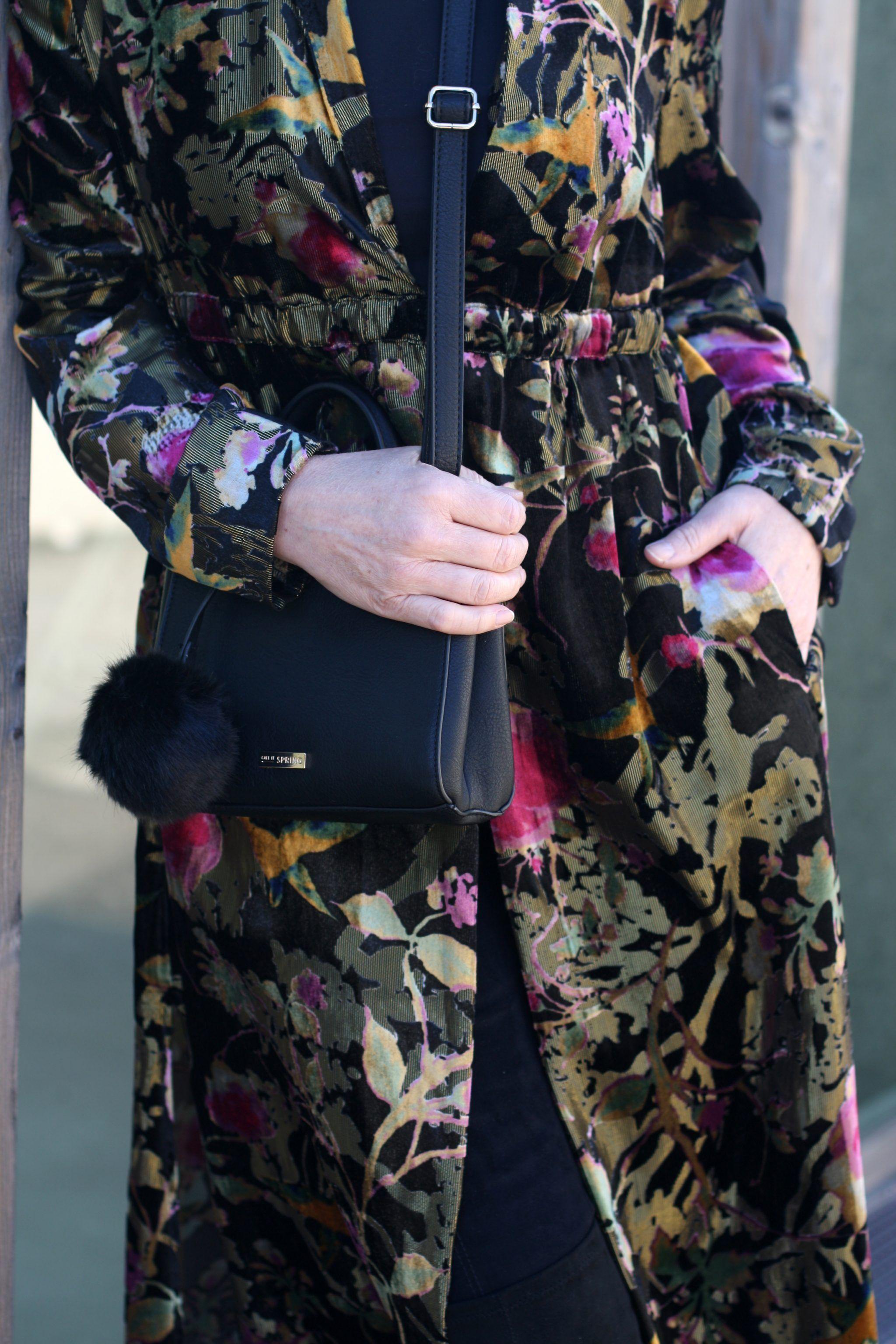 Zara Kimono Partylook by Lady of Style