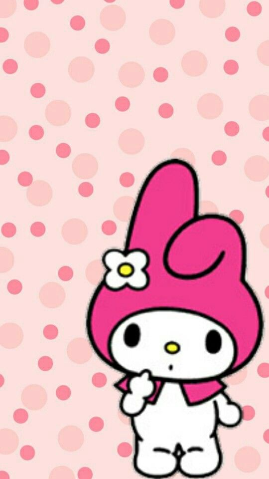 My melody | wallpaper hello kitty | Pinterest | マイメロディ、メロディ、素材