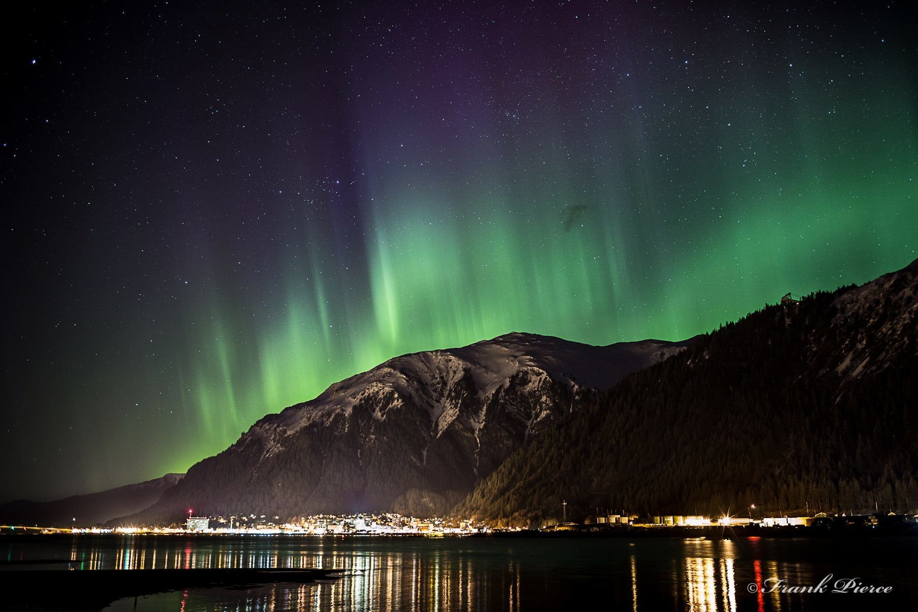 Northern Lights In Juneau Alaska