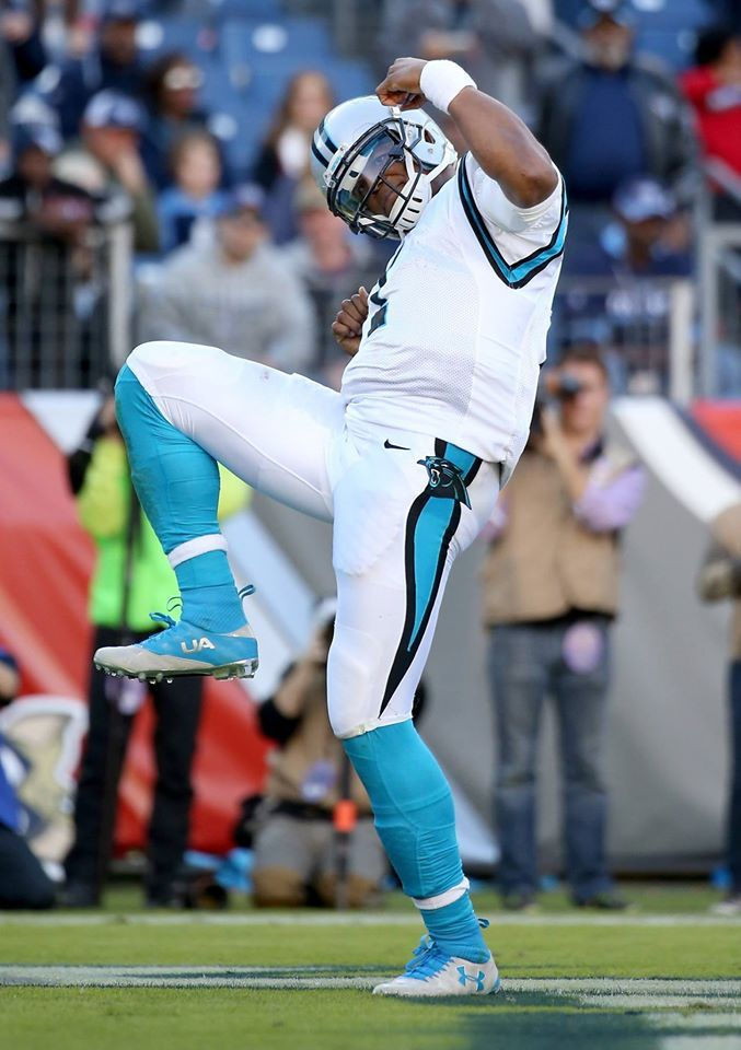 Cam Newton Is A Happy Camper The Panthers Are 12 0 This 2015 Season With Images Carolina Panthers Football Cam Newton Panthers Football