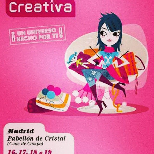 El salón de #manualidades #diy y #bellasartes 16, 17,18 y 19 de octubre en Madrid http://wp.me/p4An89-7E
