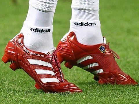 David Beckham match worn boots  beckham  matchwornboots  adidaspredator   galaxy  adidasfootball Soccer 4468101797aab