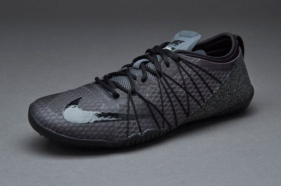 premium selection 441d2 025b3 Nike Womens Free 1.0 Cross Bionic 2 - Dark Grey   Black