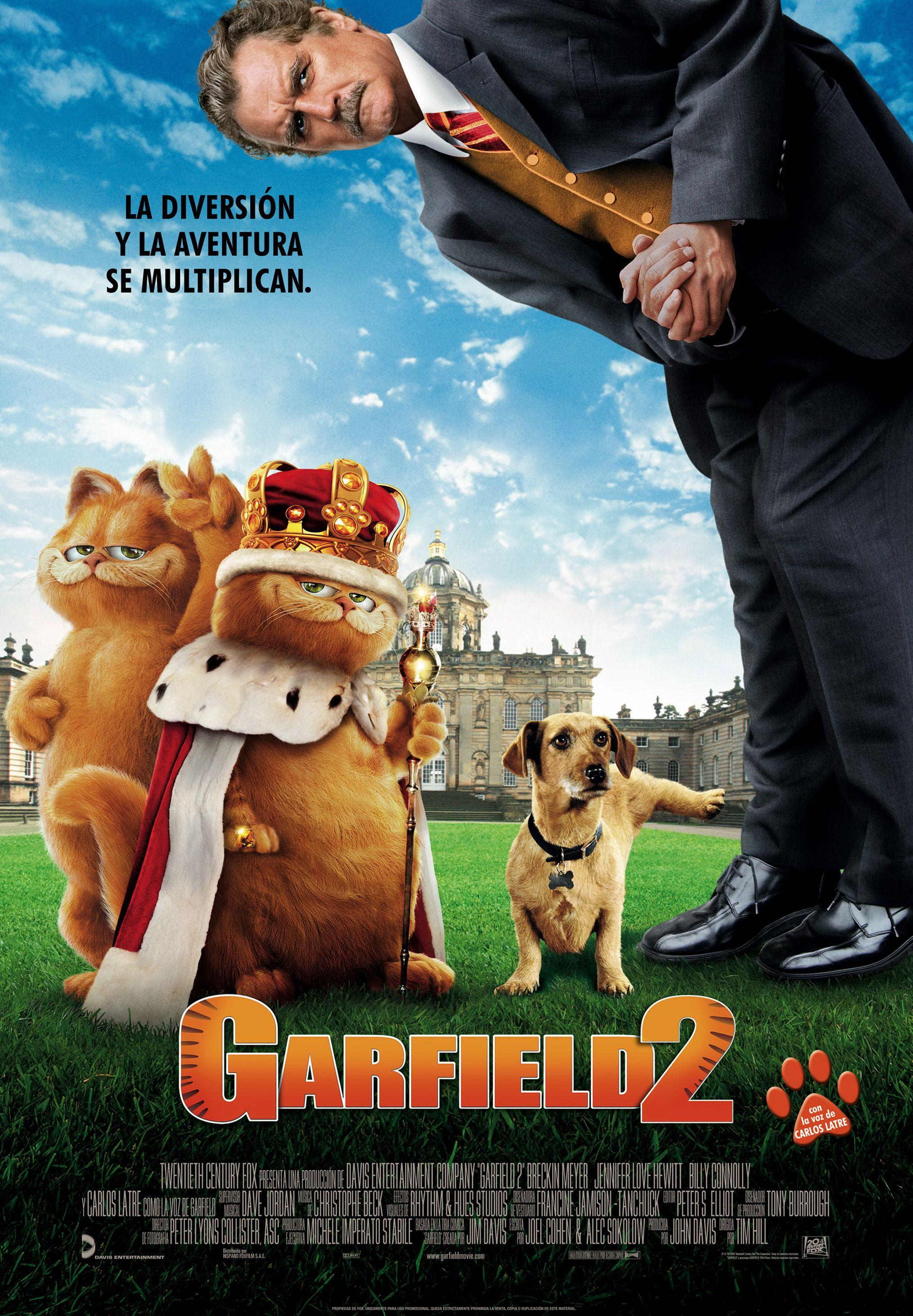 Garfield 2 dvd full latino dating