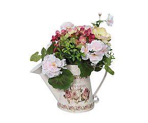Композиция из искусственных цветов «полевые цветы» - металл - Д24 х В30