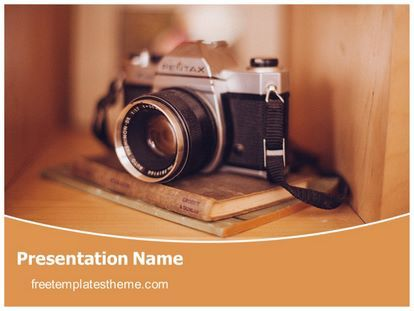 Get this free camera photography powerpoint template with get this free camera photography powerpoint template with different slides for toneelgroepblik Choice Image