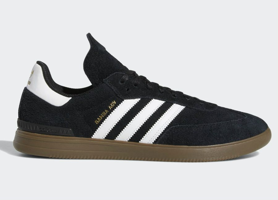 05666ba22 Adidas Samba ADV Shoes - Core Black   Cloud White   Gum