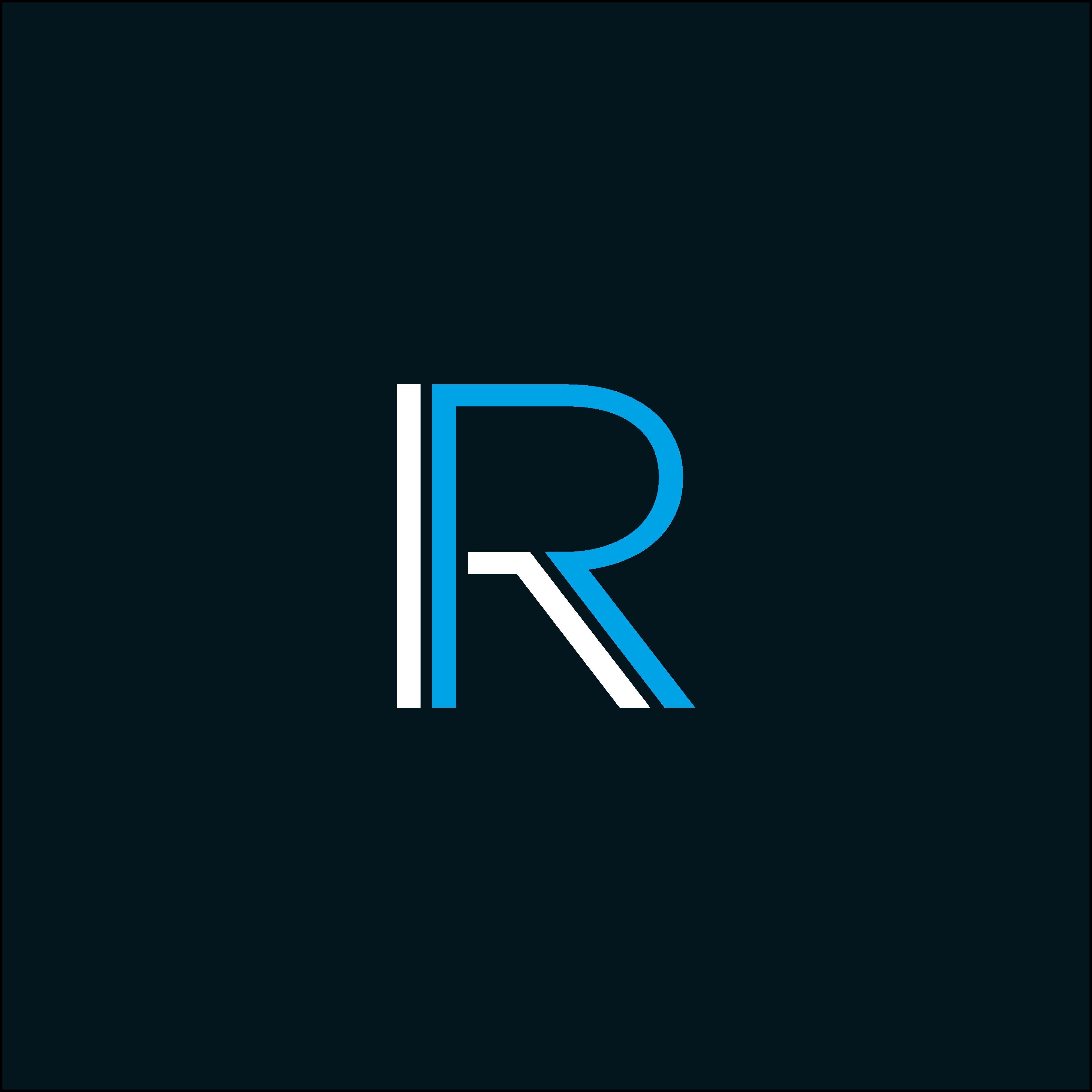 Letter R logo vector. RR logo Logotipos, Letras
