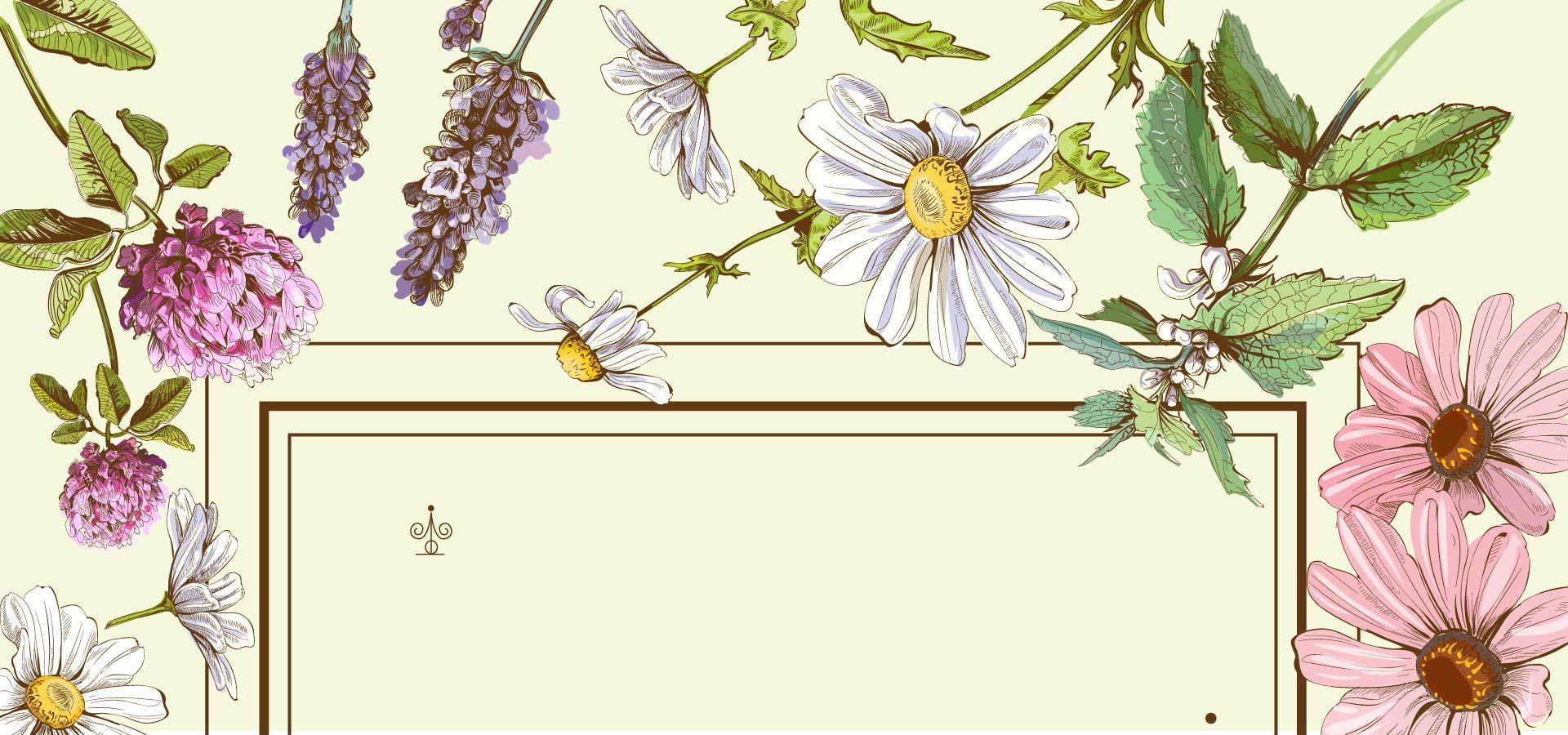 برواز الزهور زهرة تصميم Floral Painting Literature Art Floral Decor